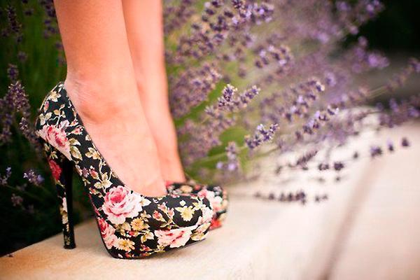 Модные обувные принты 2014