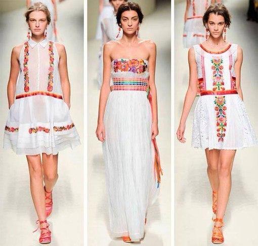 мода на украинские вышиванки