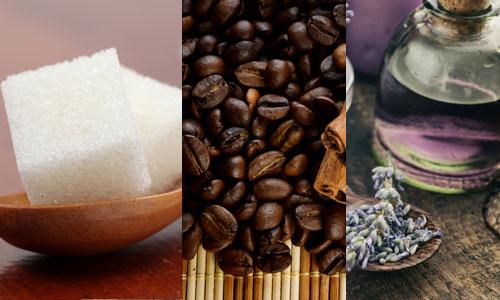 скраб сахар кофе лаванда