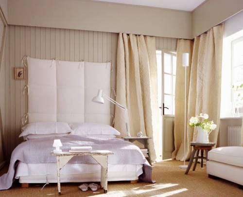 выбрать шторы для спальни