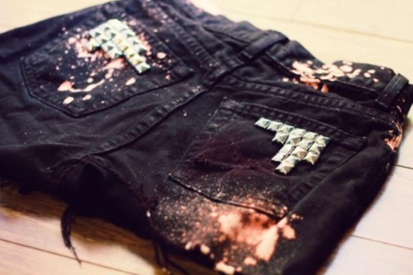 идеи для джинсовых шорт