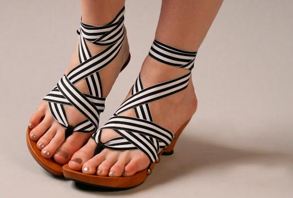 любимая летняя обувь