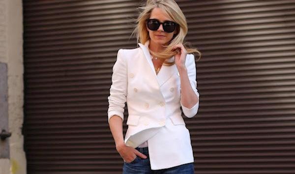 с чем носить белый пиджак