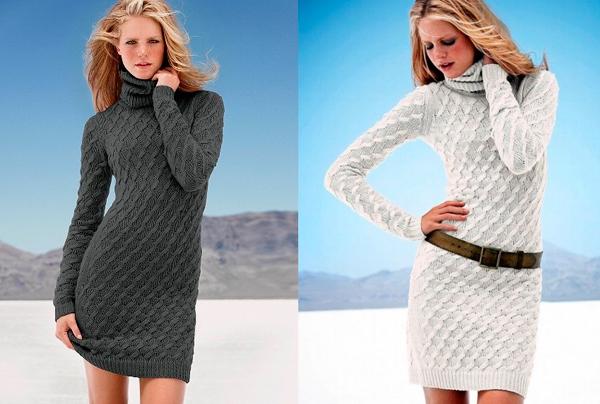 вязаное платье Victoria`s Secret