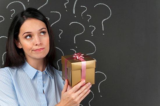 значение подарков для женщины