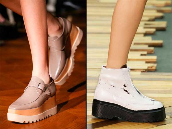 модная обувь осень 2014