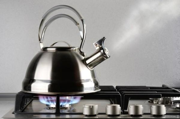 как очистить чайник