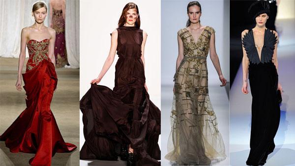 модные платья осень 2014