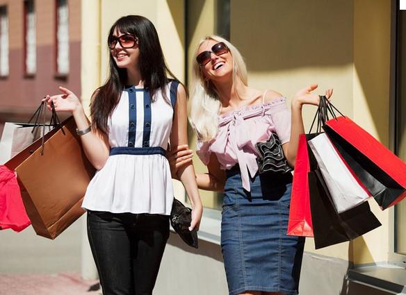 шопинг полезен для здоровья