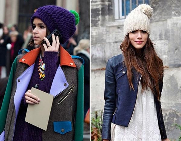 мода на шапки зима 2015