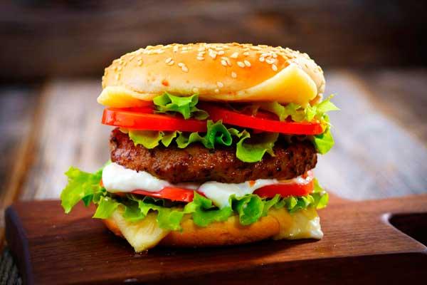 приготовить гамбургер дома
