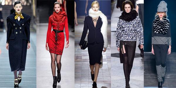 Модные аксессуары зима 2015