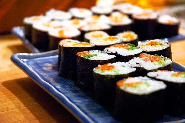 смачні начинки для суші
