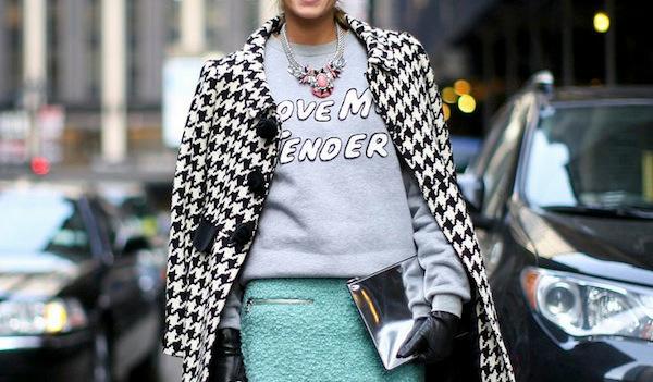 С чем носить свитшот: 5 стильных идей