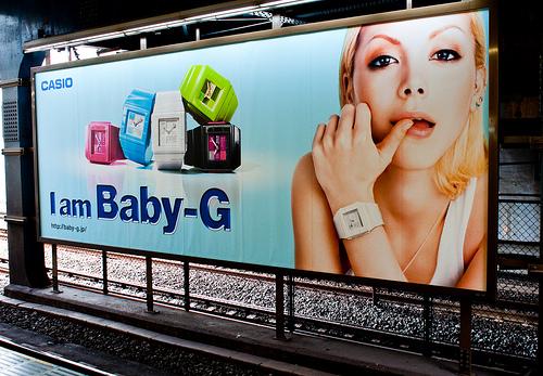 женские часы Casio Baby-G