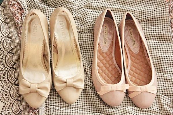 с чем носить балетки 2015
