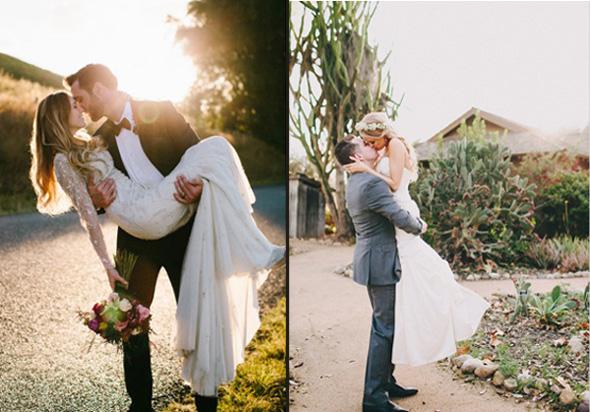 модные свадебные фотографии