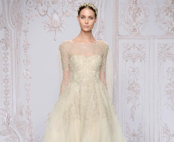 мода на свадебные платья с рукавами