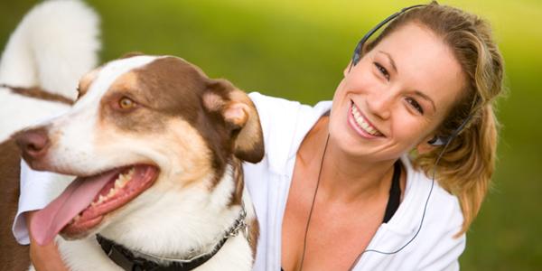 тренировки вместе с собакой