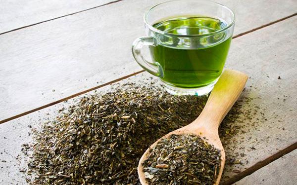 зеленый чай для красивой кожи