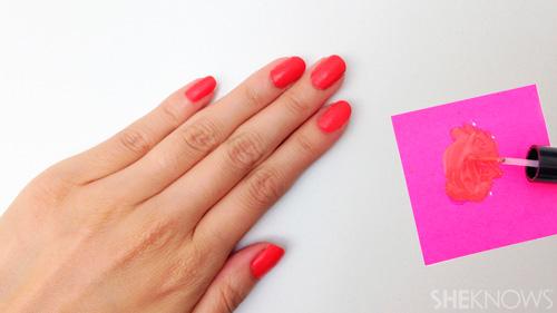 матовый лак для ногтей в домашних условиях
