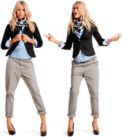 как носить брюки чинос