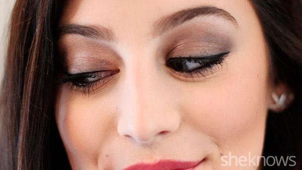 превратить дневной макияж в вечерний