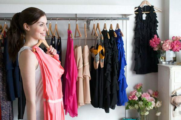 платья в женском гардеробе