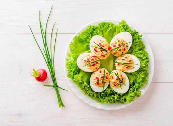 вкусные начинки для фаршированных яиц
