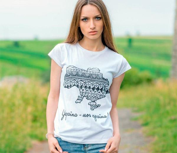 женские футболки в магазине УкрМода