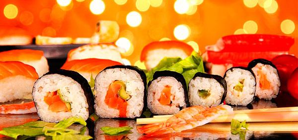 огранизовать суши вечеринку
