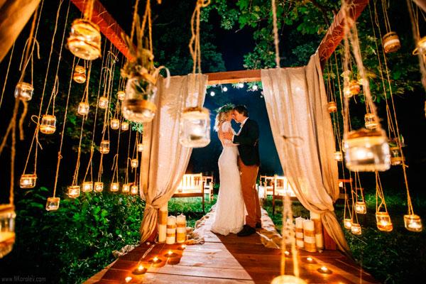 преимущества вечерней свадьбы
