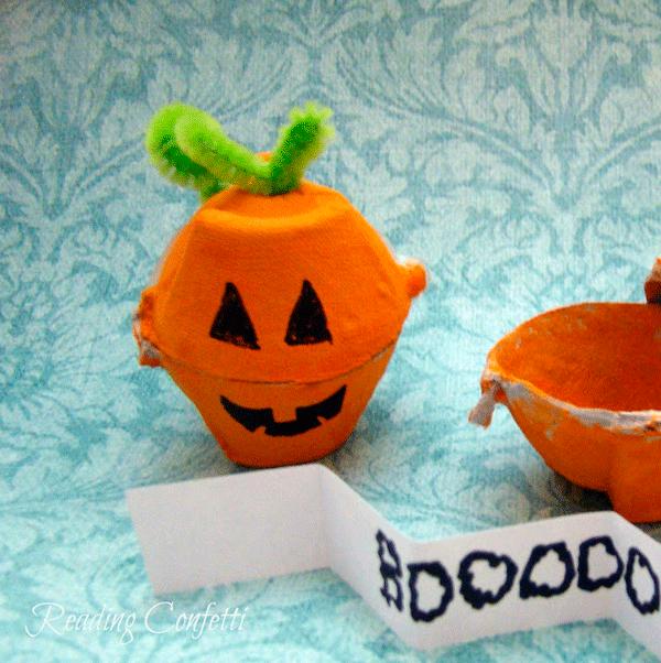 тыквы с предсказаниями на Хэллоуин