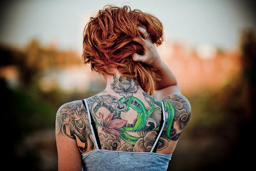 значение цветов татуировки