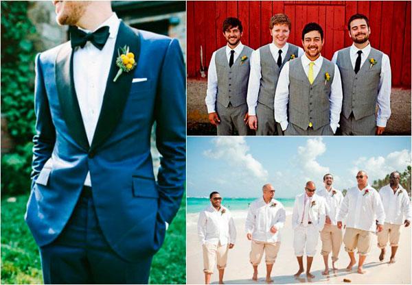 свадебная мода для женихов 2017