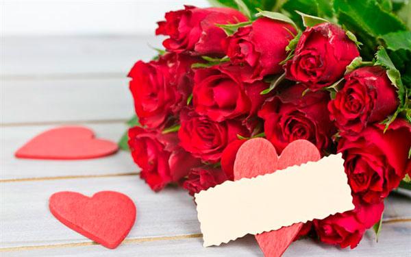 выбрать цветы на День Валентина