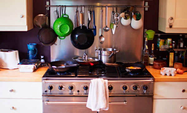 избавиться от хлама на кухне