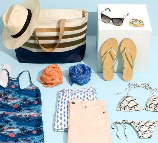 капсульный гардероб для летнего отдыха