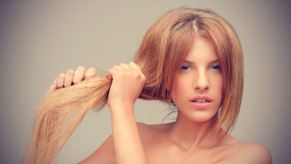избавиться от сухости волос