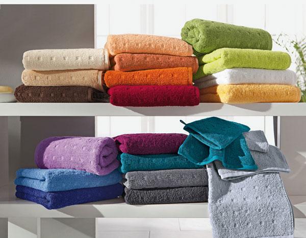 выбрать махровые полотенца