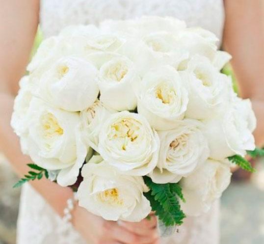 выбрать свадебный букет под платье