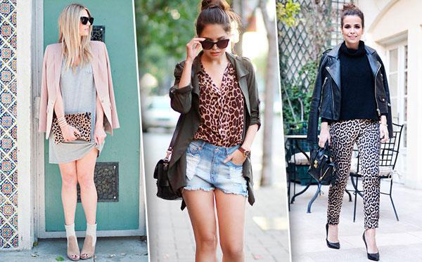 с чем носить леопардовый