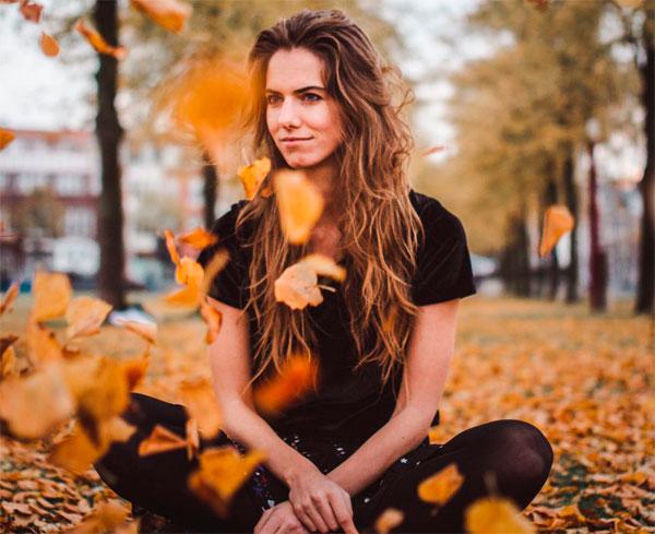 как покрасить волосы осенью