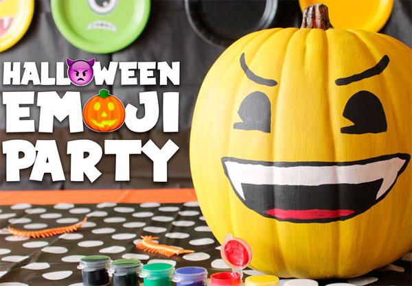 Emoji вечеринка на Halloween