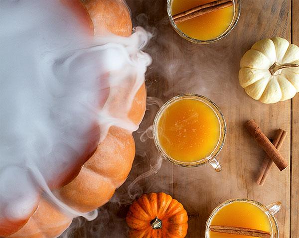 рецепты пунша на Хэллоуин