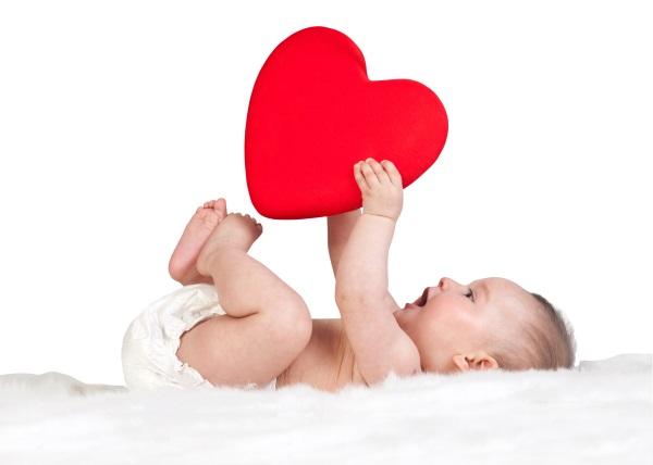 день валентина для молодых родителей