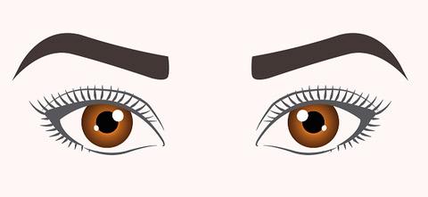выбрать ресницы по форме глаз