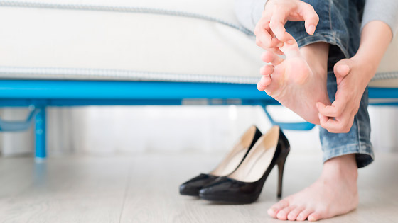 чем каблуки вредны для ног
