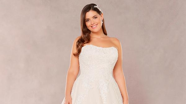 выбрать свадебное платье plus size