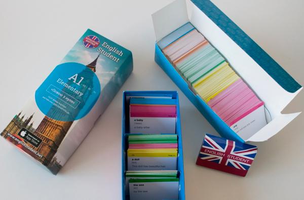 Флеш-карточки для изучения иностранных языков